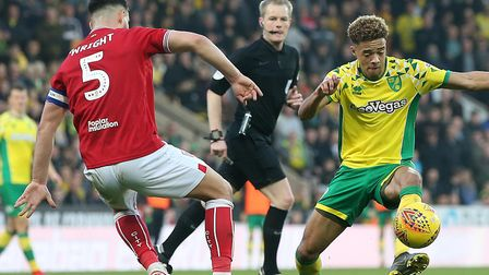 Bristol City skipper Bailey Wright was impressed with Norwich City Picture: Paul Chesterton/Focus Im