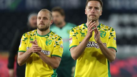 Marco Stiepermann and Teemu Pukki - City's dynamic duo. Picture: Paul Chesterton/Focus Images