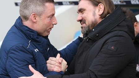Neil Harris was impressed with Daniel Farke's Norwich City Picture: Paul Chesterton/Focus Images Ltd