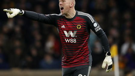 John Ruddy returned to Premier League action against Cardiff for Wolves at the weekend Picture: Mart