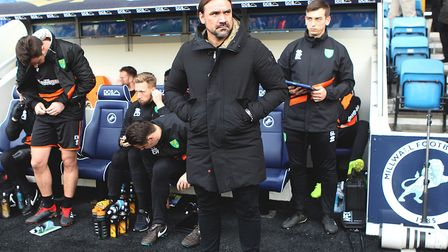 Norwich City head coach Daniel Farke is a man on a mission in the Championship this season. Picture: