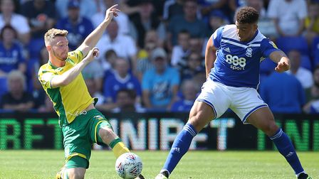 James Husband started the first game of this season for Norwich City, playing over an hour of a 2-2