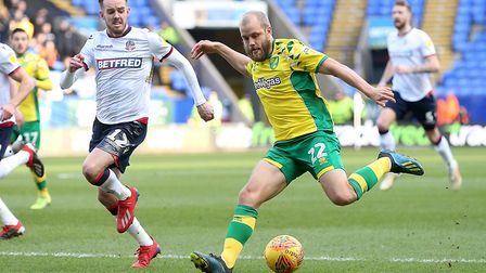 Teemu Pukki was hailed by Bolton boss Phil Parkinson Picture: Paul Chesterton/Focus Images Ltd