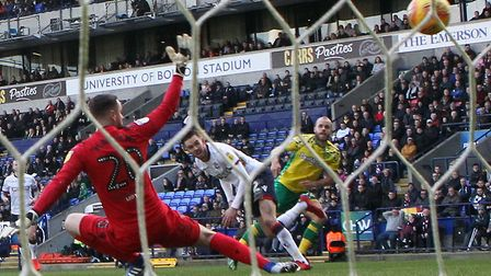 Teemu Pukki got the show on the road with an assured finish past Rmi Matthews in Norwich City's 4-0