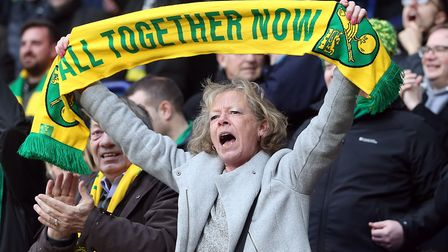 The traveling Norwich City fans got to enjoy themselves at the University of Bolton Stadium on Satur