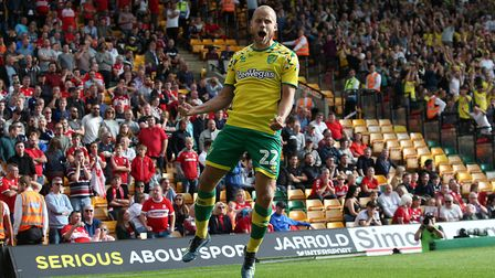 A familiar sight this season - Teemu Pukki celebrating a goalPicture: Paul Chesterton/Focus Images