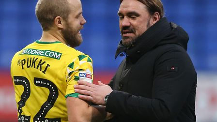 Teemu Pukki and Daniel Farke missed out in the latest Championship monthly awards Picture: Paul Ches