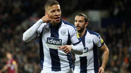 Dwight Gayle has impressed in West Brom's promotion assault. Picture: PA