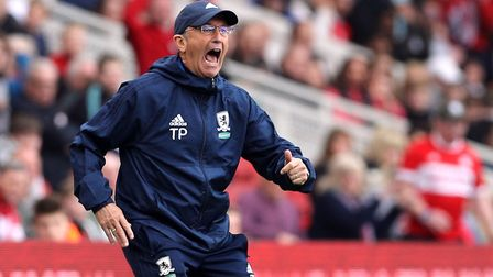 Middlesbrough boss Tony Pulis. Picture: PA