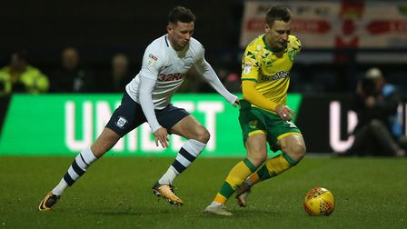 Alan Browne has been getting the goals from Preston's midfield this term. Picture: Paul Chesterton/F