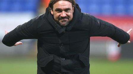 Daniel Farke is happy for Norwich City fans to dream but knows the hard work lies ahead Picture: Pau