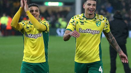 Norwich City name an unchanged starting XI for the fifth successive game, with youngsters Max Aarons