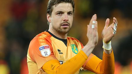 Tim Krul can count on Daniel Farke's backing after his midweek error Picture: Paul Chesterton/Focus