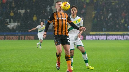 Hull City's Jarrod Bowen is a man in demand and will need to be watched carefully by the Canaries. P