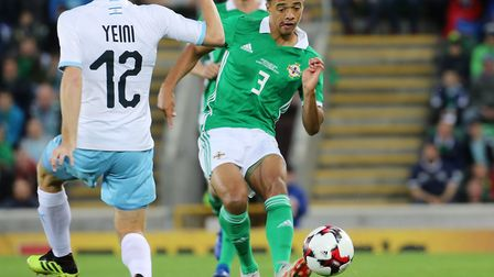 Norwich City left-back Jamal lewis has retained his place in the latest Northern Ireland squad Pictu