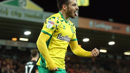 Emi Buendia scored twice as Norwich City beat Hull 3-2 at Carrow Road Picture: Paul Chesterton/Focus