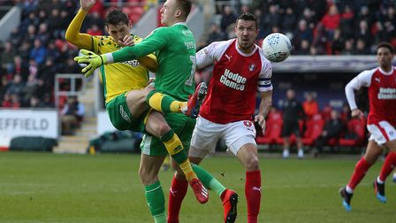 Kenny McLean scores Norwich City's opening goal, as the Championship leaders picked up a sixth succe