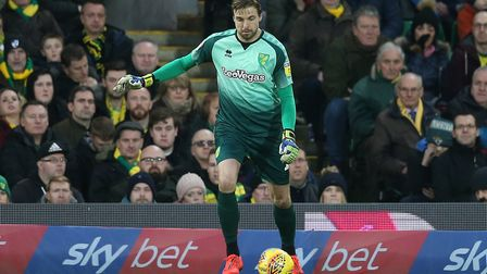 Tim Krul - playing out from the back can be hazardous at times Picture: Paul Chesterton/Focus Images