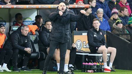 Spud Thornhill wishes Rotherham boss Paul Warne plenty of luck - after the game against his number o
