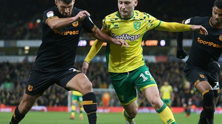 Tom Trybull has enjoyed a winning run in the Norwich City side Picture: Paul Chesterton/Focus Images