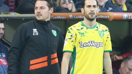 Mario Vrancic offers Norwich City an extra attacking dimension Picture: Paul Chesterton/Focus Images
