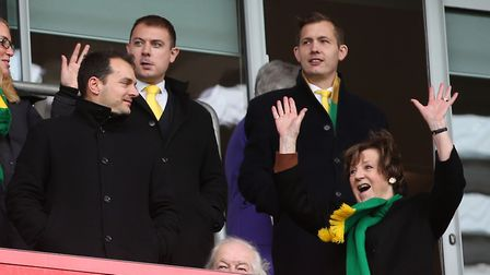 Norwich City majority shareholder Delia Smith at Rotherham Picture: Paul Chesterton/Focus Images Ltd