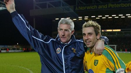 Nigel Worthington was the last Norwich City manager to win the title in the second tier Picture: Arc
