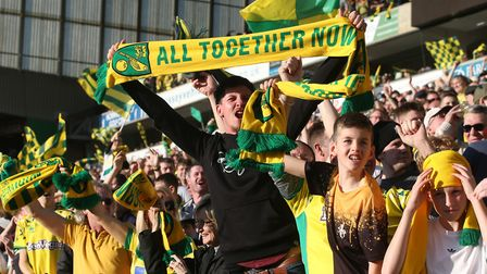 Norwich City supporters have snapped up season tickets once again at Carrow Road Picture: Paul Chest