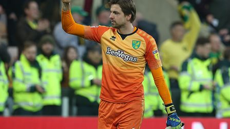 Tim Krul has earned three clean sheets in Norwich City's previous six games, as they maintain their