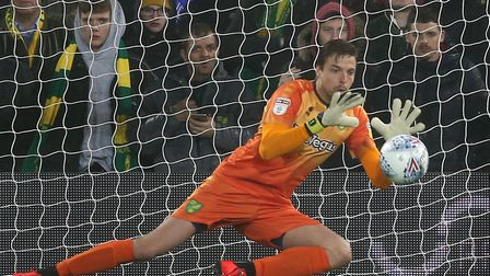 Tim Krul earned his 11th clean sheet of the season for Norwich City, in victory over Swansea at Carr