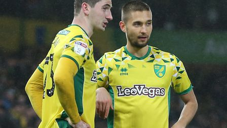 Moritz Leitner knows the Premier League is in touching distance for Norwich City Picture: Paul Chest