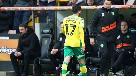 Daniel Farke mulls over what next after Emi Buendia's red card in Norwich City's 4-0 win over QPR. P