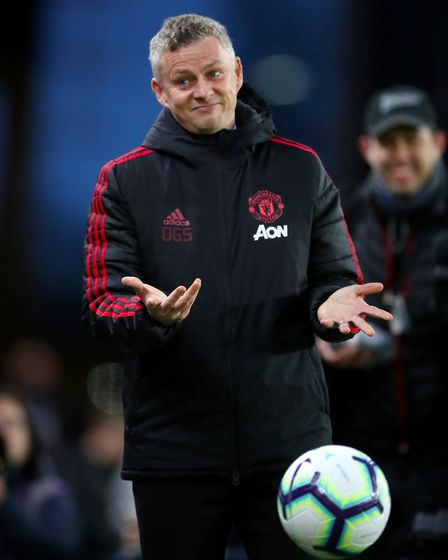 Ole Gunnar Solskjaer - in the driving seat at Manchester United Picture: PA