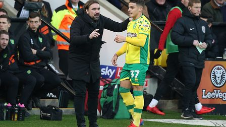 Head coach Daniel Farke will one of his jewels, Max Aarons Picture: Paul Chesterton/Focus Images