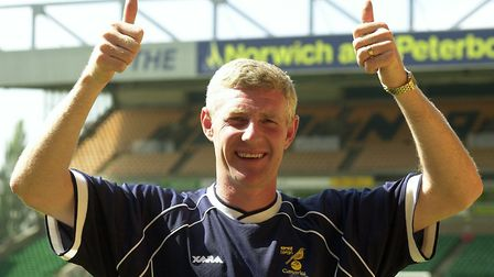 Nigel Worthington - what a thumbs up he gave in 2004! Picture: Archant