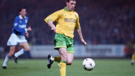 Jamie Cureton, who is preparing to play the 1,000th game of his career, pictured during his Norwich