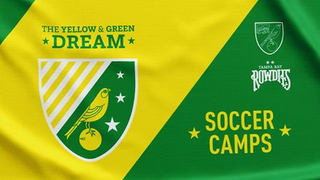 Norwich City and Tampa Bay Rowdies have announced new Yellow and Green Dream summer camps to be held
