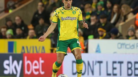 Ben Godfrey has become a key player for Norwich City this season Picture: Paul Chesterton/Focus Imag