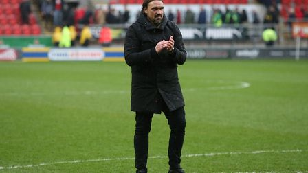 City head coach Daniel Farke after his side's win at Rotherham. Picture: Paul Chesterton/Focus Image