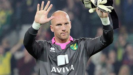 Wolves keeper John Ruddy won promotion from the Championship twice with Norwich City Picture: Paul C
