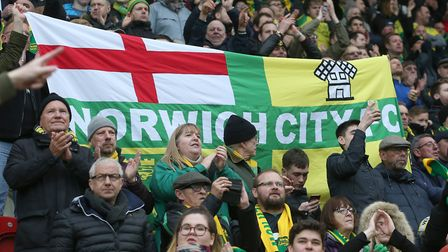 Norwich City fans in good voice at Rotherham United Picture: Paul Chesterton/Focus Images Ltd