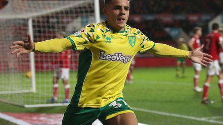 A late header at Bristol City earned a valuable point for Norwich City in December Picture: Paul Che