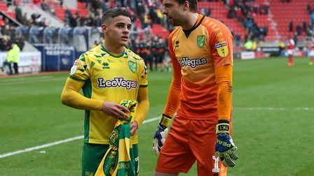 Max Aarons remembers watching City team-mate Tim Krul in World Cup action for Holland in 2014, when