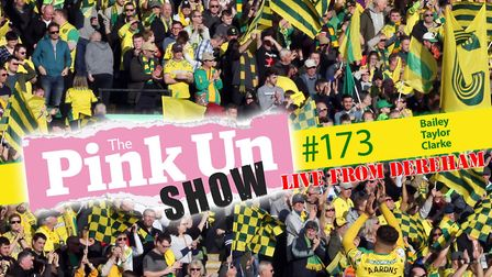 The PinkUn Show is LIVE in Dereham with all the usual Norwich City fun and games, joined by ex Canar