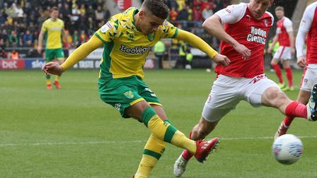 Norwich City right-back Max Aarons has returned from England U19 duty ahead of this weekend's game a
