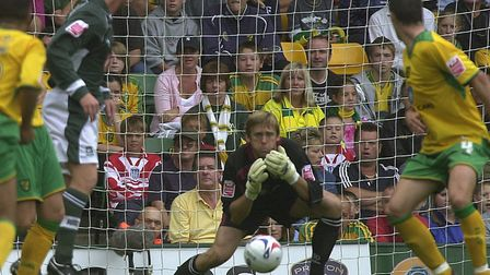 Robert Green made 241 appearances for Norwich City Photo: Angela Sharpe