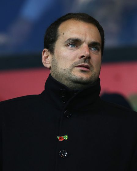 Norwich City sporting director Stuart Webber Picture: Paul Chesterton/Focus Images Ltd