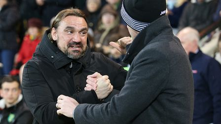 Norwich head coach Daniel Farke prepares another manager for Championship disappointment Picture: Pa