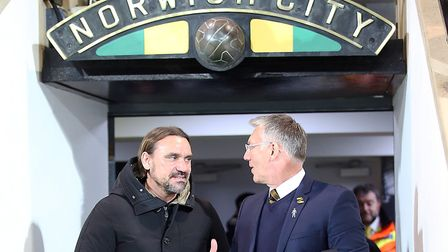 Daniel Farke is wary of a Middlesbrough backlash after three straight league defeats Picture: Paul C