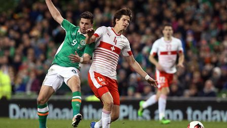 Norwich City defender Timm Klose is in the Switzerland squad, hoping to add to his 17 caps Picture: